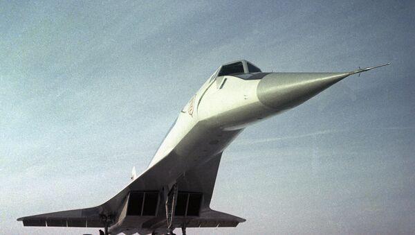 Путнички суперсонични авион Ту-144 - Sputnik Србија