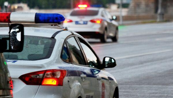 Полицијска возила на улици у Москви - Sputnik Србија