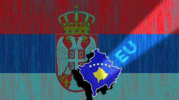 Srbija, Kosovo, EU - ilustracija - Sputnik Srbija
