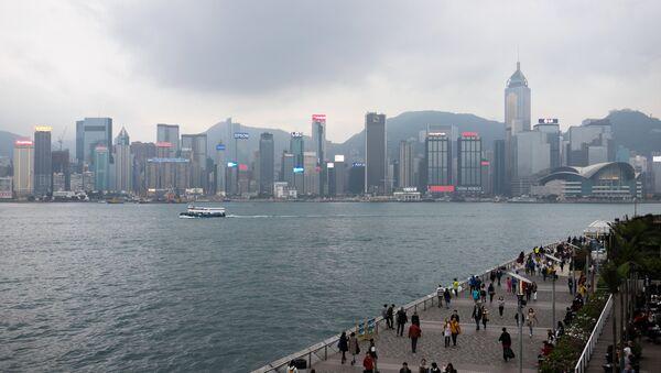 Поглед на Хонгконг - Sputnik Србија