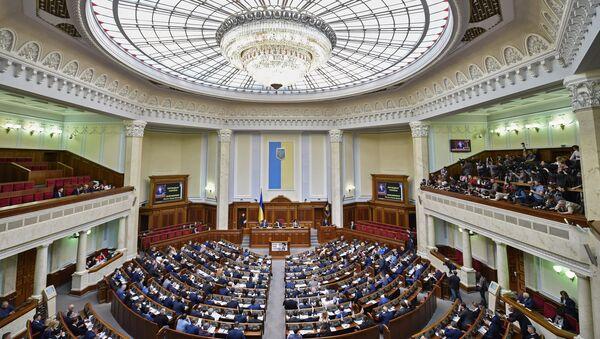 Заседање Врховне раде Украјине - Sputnik Србија