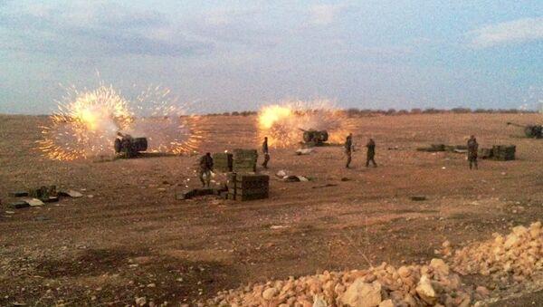 Сиријска војска у офанзиви - Sputnik Србија