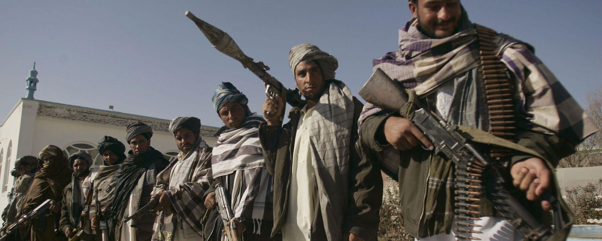 Бивши припадници покрета Талибан у Авганистану - Sputnik Србија, 1920, 22.07.2021