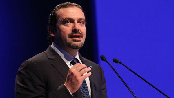 Libanski premijer Saad Hariri - Sputnik Srbija