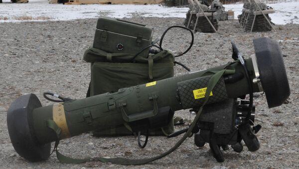 The FGM-148 Javelin Anti-tank Guided Missile - Sputnik Србија