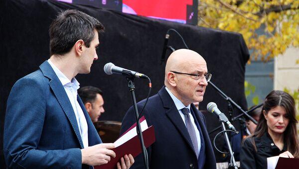 Ministar kulture Vladan Vukosavljević. - Sputnik Srbija