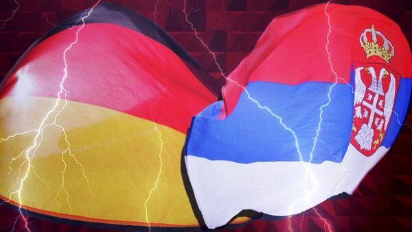 Заставе Србије и Немачке - Sputnik Србија