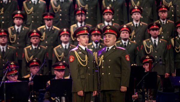 Akademski ansambl pesama i igara ruske armije Aleksandrov nastupio je u Sava centru - Sputnik Srbija