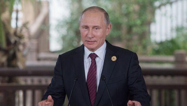 Председник Русије Владимир Путин на самиту АПЕК-а у Вијетнаму - Sputnik Србија