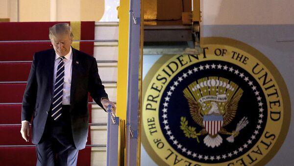 Председник САД Доналд Трамп долази у Ханој у Вијетнаму - Sputnik Србија