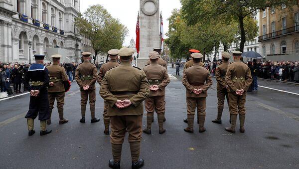 Obeležavanje Dana primirja u Londonu - Sputnik Srbija