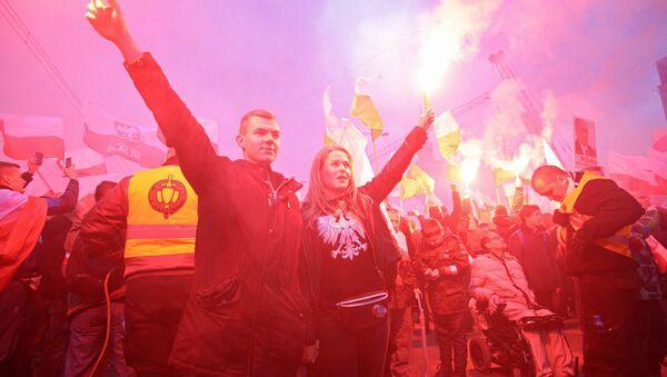 Protest desničara u Poljskoj - Sputnik Srbija