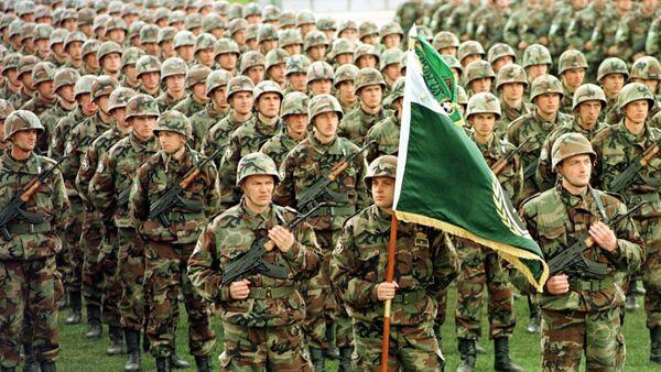 Војници бошњачког елитног Петог корпуса - Sputnik Србија
