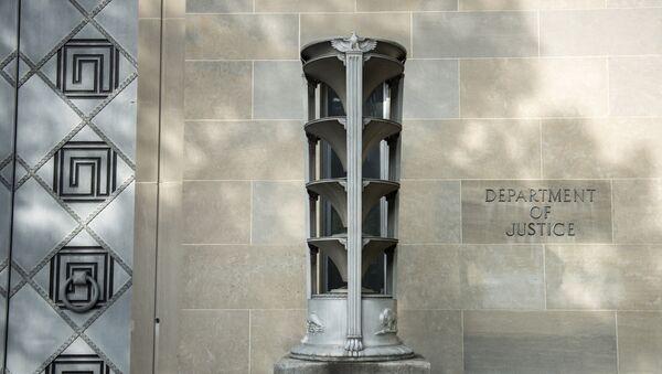 Zgrada Ministarstva pravde SAD u Vašingtonu - Sputnik Srbija