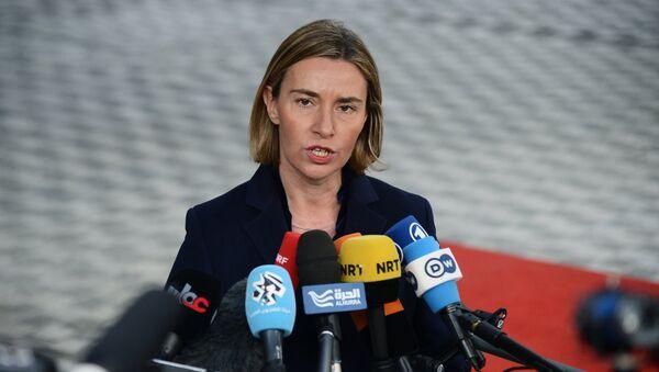 Šef evropske diplomatije Federika Mogerini - Sputnik Srbija