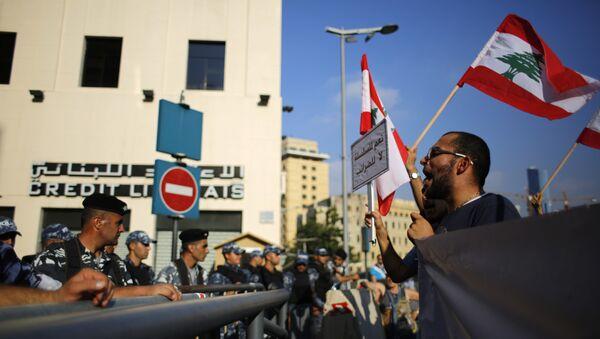 Протест у Бејруту - Sputnik Србија