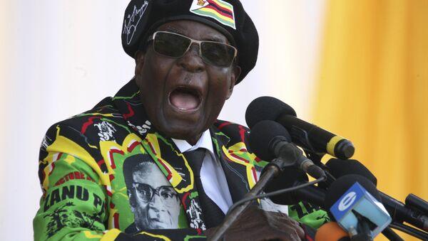 Председник Зимбабвеа Роберт Мугабе - Sputnik Србија
