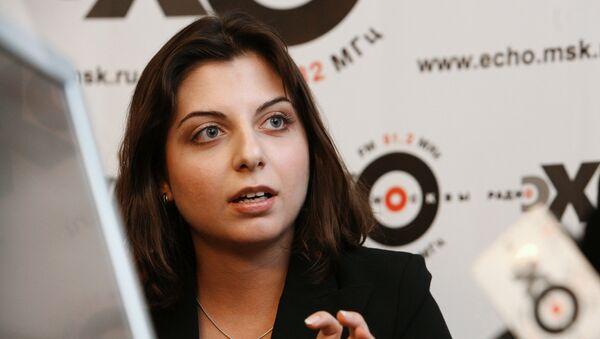 Glavni urednik televizije RT i agencije Sputnjik Margarita Simonjan - Sputnik Srbija