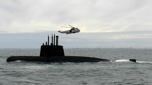 Аргентинска подморница Сан Хуан у близини Буенос Аиреса - Sputnik Србија