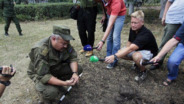 Načelnik štaba za operativnu komandu DNR Ruslan Jakubov - Sputnik Srbija