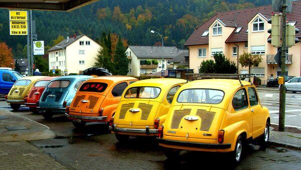 Заставе 750 - популарне Фиће на паркингу у Немачкој - Sputnik Србија