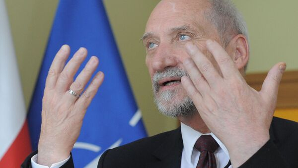 Министар одбране Пољске Антони Мачеревич - Sputnik Србија