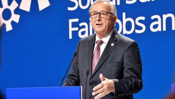 Председник Европске комисије Жан Клод Јункер. - Sputnik Србија