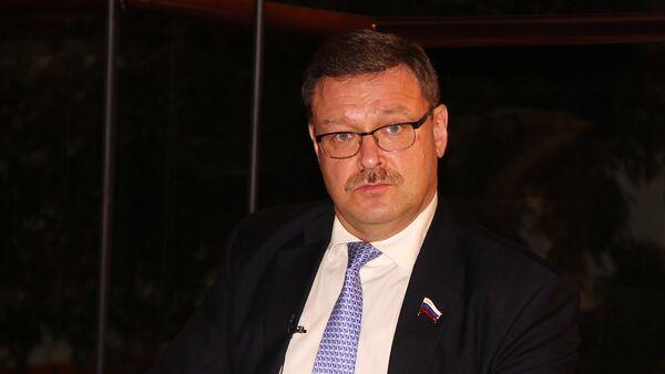 Predsednik Odbora za međunarodne poslove Saveta federacije Rusije Konstantin Kosačov - Sputnik Srbija
