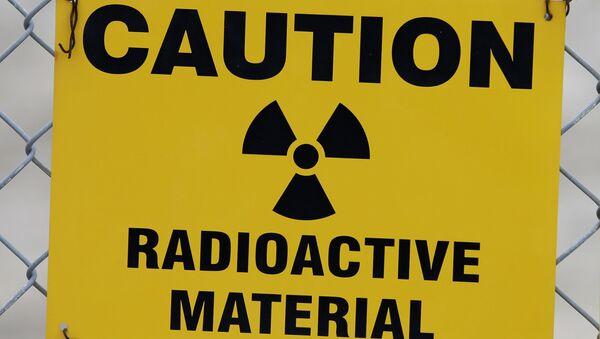 Znak upozorenja o radioaktivnom materijalu - Sputnik Srbija