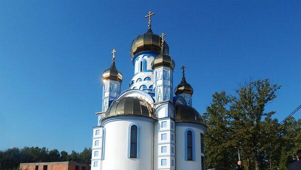Црква непризнате македонске православне цркве - Sputnik Србија