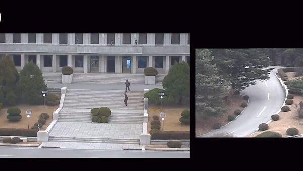 Objavljen snimak bekstva severnokorejskog vojnika - Sputnik Srbija