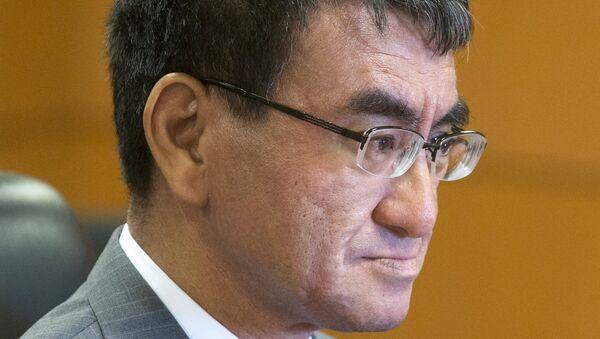 Министар иностраних послова Јапана Таро Коно - Sputnik Србија