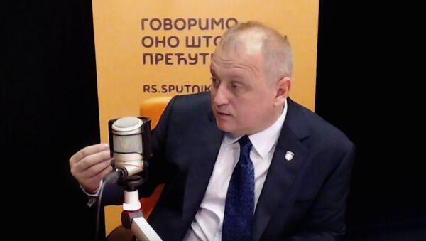 Gradski menadžer Goran Vesić - Sputnik Srbija