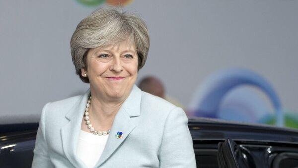 Премијерка Велике Британије Тереза Меј долази на самит Источног партнерства у Бриселу - Sputnik Србија