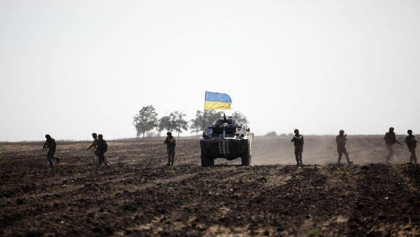Оружане снаге Украјине током операције на Истоку Украјине - Sputnik Србија