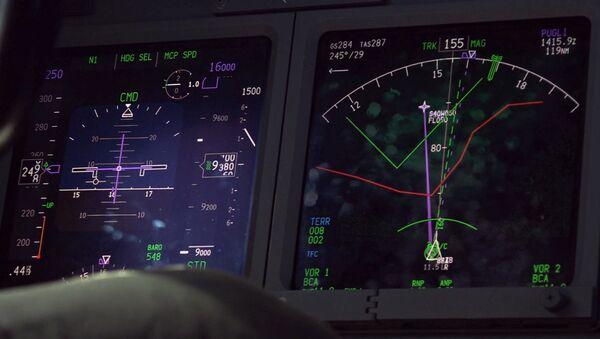 Radar na avionu Boing P-8A tokom potrage za argentinskom podmornicom San Huan u Južnom Atlantiku - Sputnik Srbija