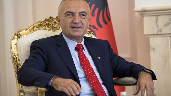 Predsednik Albanije Ilir Meta - Sputnik Srbija