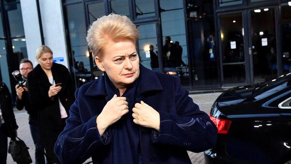 Predsednica Litvanije Dalja Gribauskajte - Sputnik Srbija