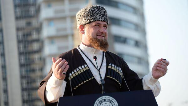 Лидер Чеченије Рамзан Кадиров - Sputnik Србија