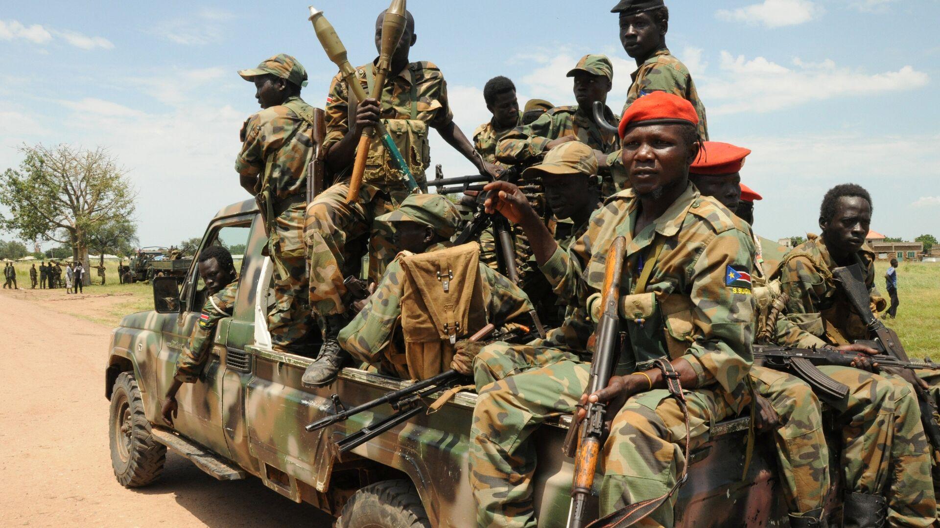 Sudanska oslobodilačka vojska Sudan People's Liberation Army (SPLA) - Sputnik Srbija, 1920, 26.09.2021