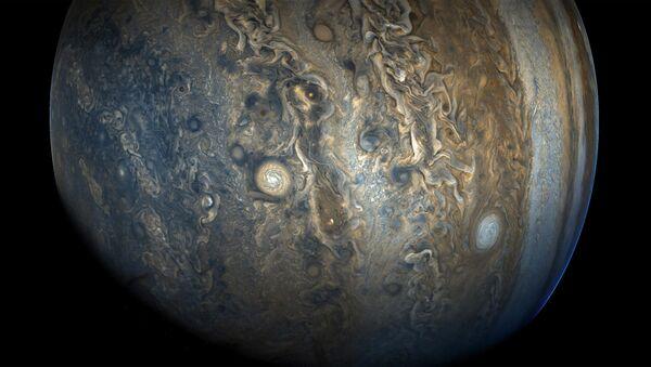 Јужна полулопта Јупитера виђена са космичког брода Јуно - Sputnik Србија