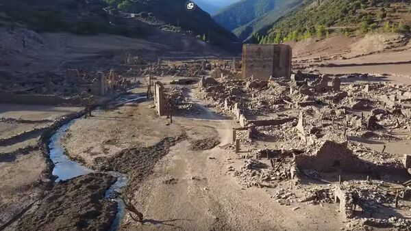 Ruševine grada Mansila de la Siera može - Sputnik Srbija