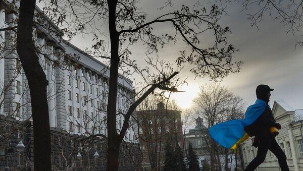 Akcija pristalica evrointegracija Ukrajine u Kijevu - Sputnik Srbija