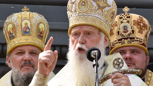 Patrijarh nepriznate Ukrajinske pravoslavne crkve Filaret - Sputnik Srbija