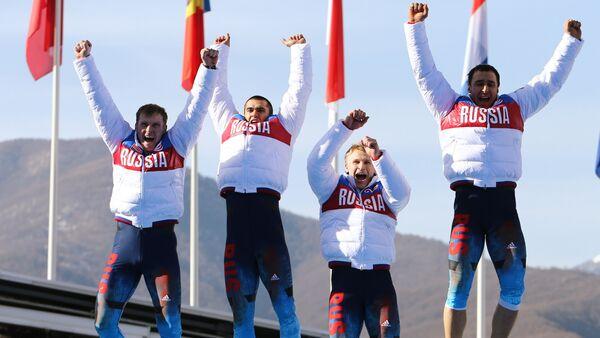 Олимпијада 2014 у Сочију, руска репрезентација у бобу - Sputnik Србија