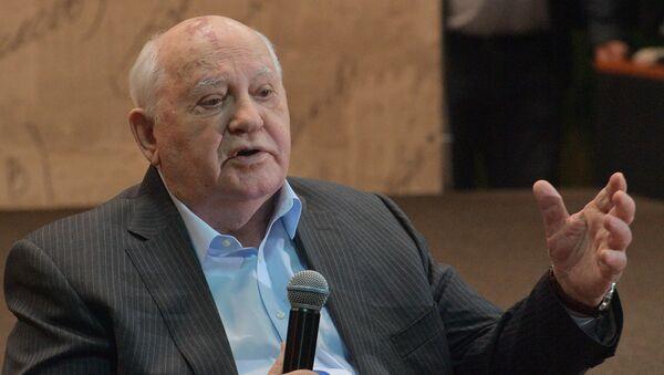 Prezentacija knjige Mihaila Gorbačova Ostajem optimista u moskovskom Domu knjige - Sputnik Srbija