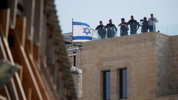 Израелски војници у Јерусалиму - Sputnik Србија