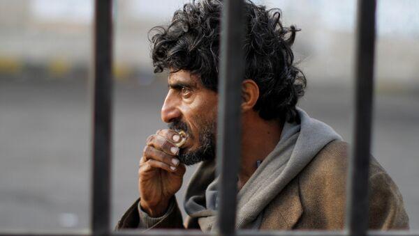 Beskućnik u Jemenu. - Sputnik Srbija