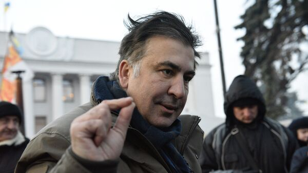 Bivši predsednik Gruzije Mihail Sakašvili  - Sputnik Srbija