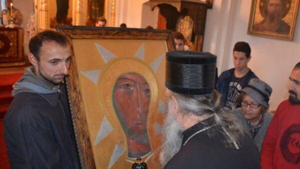 Икона Богородице Филеримске - Sputnik Србија